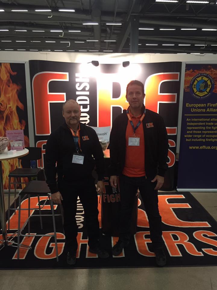 Kom och träffa Brandmännens Riksförbund på Skyddsmässan i Stockholm