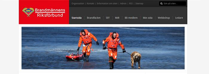 BRF får ny webbplats