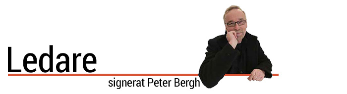 Ledare av Peter Bergh