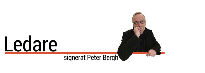 Ledare signerat Peter Bergh